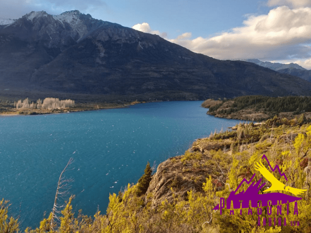 Panorámica del lago Epuyén desde la altura