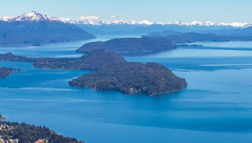 Panorámica de Bariloche. Más vuelos a la Patagonia