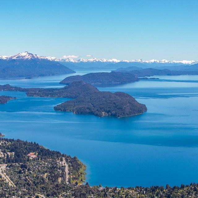 Panorámica de Bariloche, uno de los lugares de la Patagonia con mayor calidad de vida.