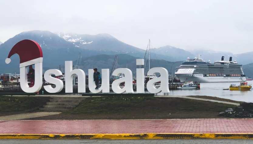 Ushuaia, recibió crucero