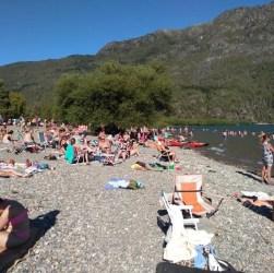Ocupación plena en Lago Puelo