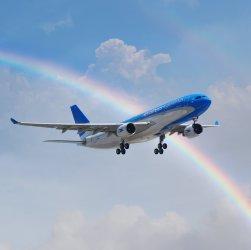 Avión de Aerolíneas Argentina