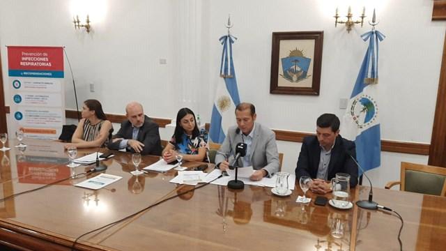 Conformación del comité en Neuquén.