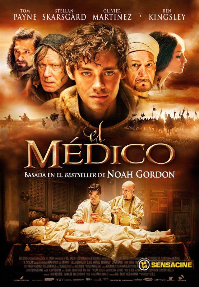 El Medico, una de las películas para viajar desde casa.