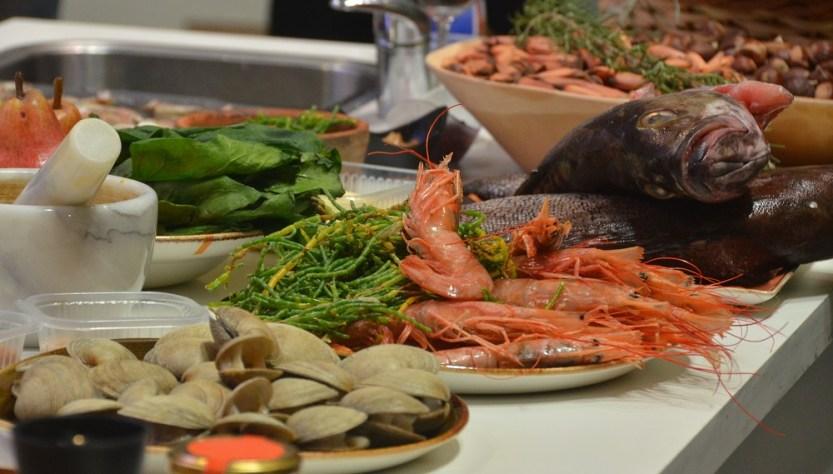 Festival del Chef Patagonico comida sobre la mesa