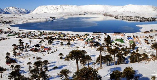 Caviahue, pueblo nieve que cumple 34 años.