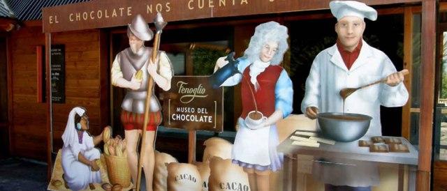 Museo del chocolate en Bariloche.