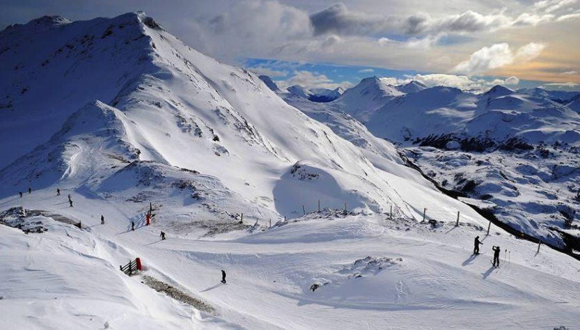 Temporada invernal en Tierra del Fuego
