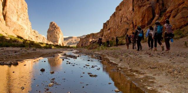 Piedra Parada en Chubut, uno de los destinos posicionados pospandemia.