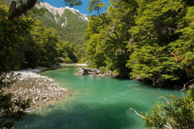 Parque Nacional Los Alerces, patrimonio de la Unesco.