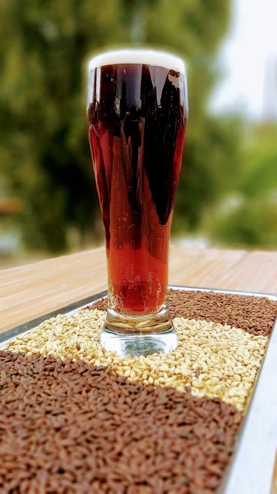 Cerveza negra de Esquel.