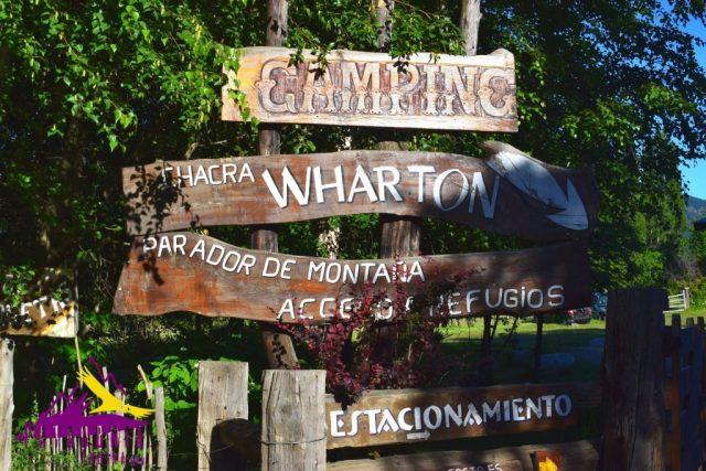 Chacra Wharton El Bolsón Patagonia Andina