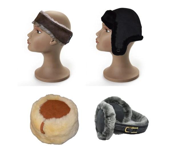 Cappelli, fasce per capelli, paraorecchie
