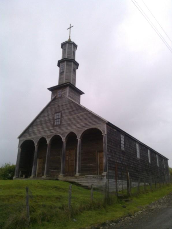 Vilupulli Church Chiloe Chile