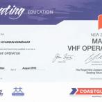 Marine VHF Operator, New Zealand