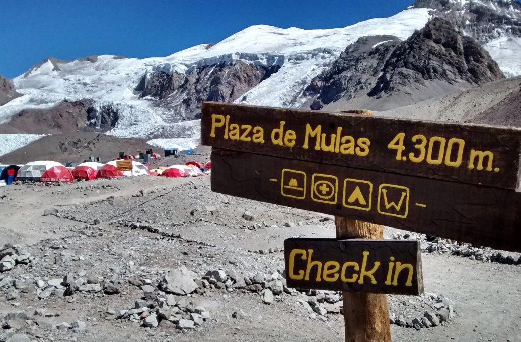 They are at Base Camp!