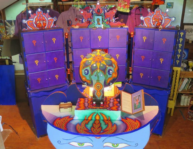 Here is the Pataphysical Slot Machine!