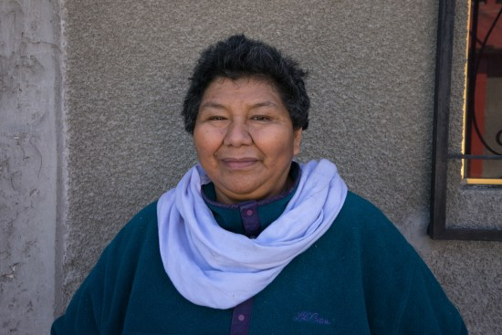 Farmer in Chilcuahutla Hidalgo, Maria del Carmen Sandoval