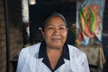 Maximina Morales Morales in her roadside stand in Zaachila.
