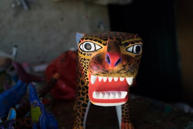 An alebrijes made by Jesús Jimenez Hernandez.