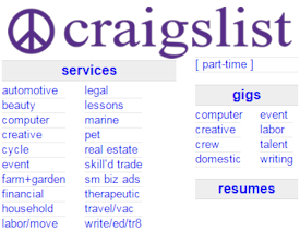 marketing on craigslist