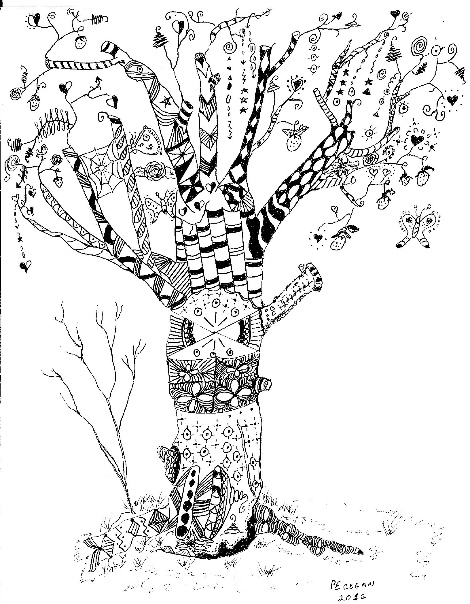 Drawing 5 Tree