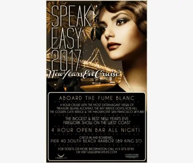 Speakeasy New Years Eve Cruise