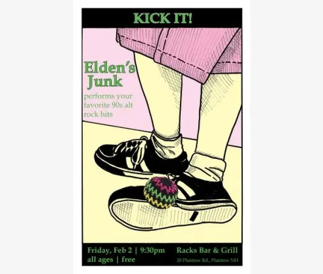 Kick It With Eldens Junk And Rock The 90s