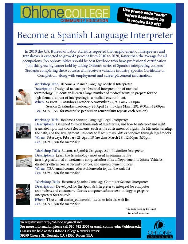 Become A Spanish Language Interpreter Fremont Ca Patch