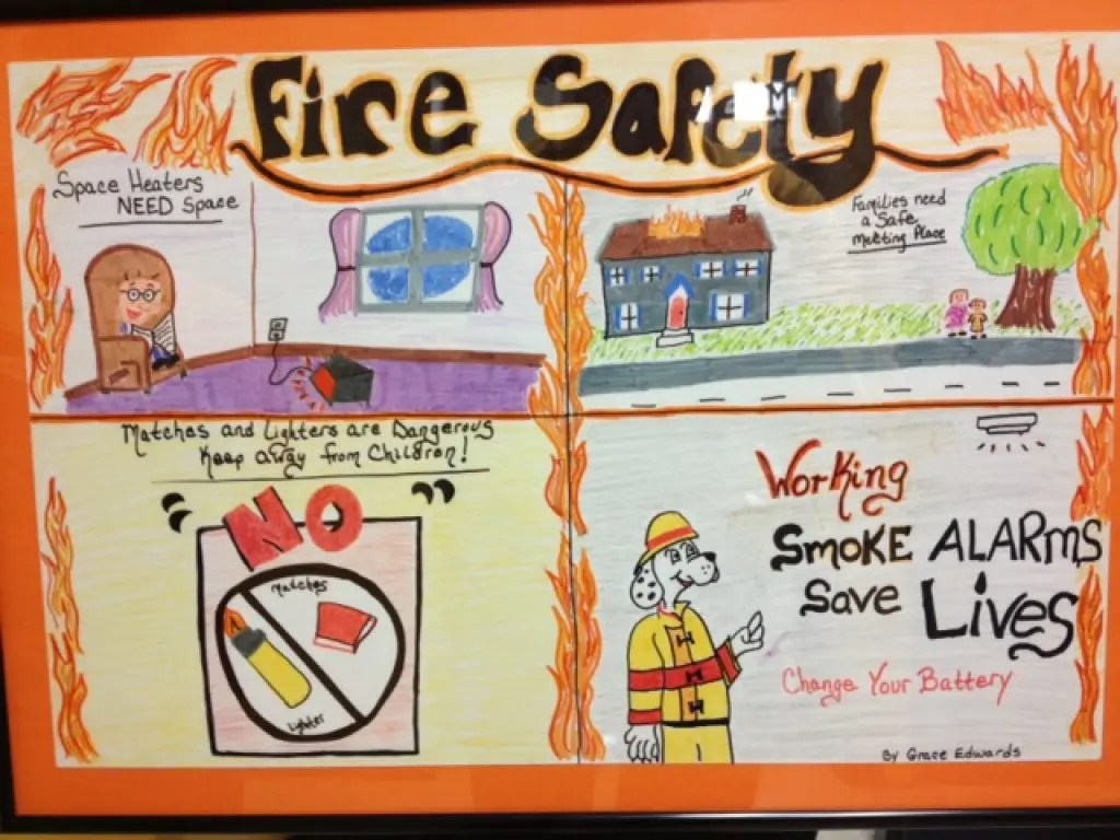 Whitnall Middle School Students Wins Fire Safety Award