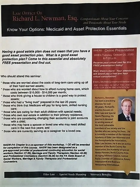 Know Your Options: Medicaid and Asset Protection