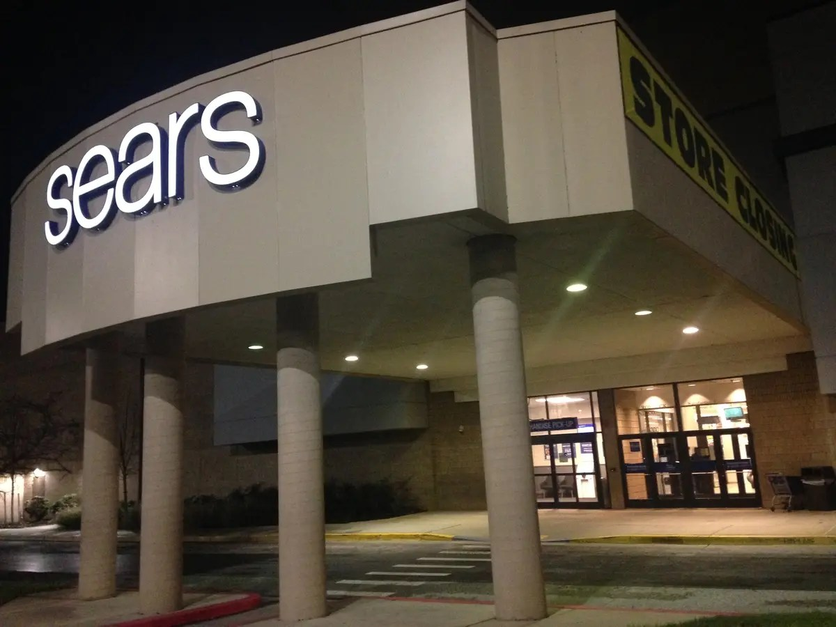 columbia sears closing date is
