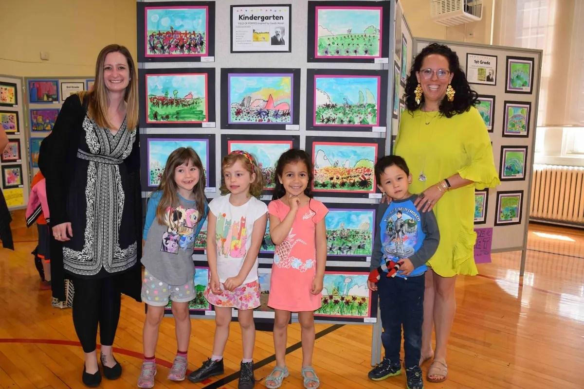 Art Show Celebrates Students Creativity At Rye Neck