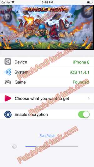 Jungle Heat Hack - patch and cheats for Diamonds and other stuff on Anroid and iOS