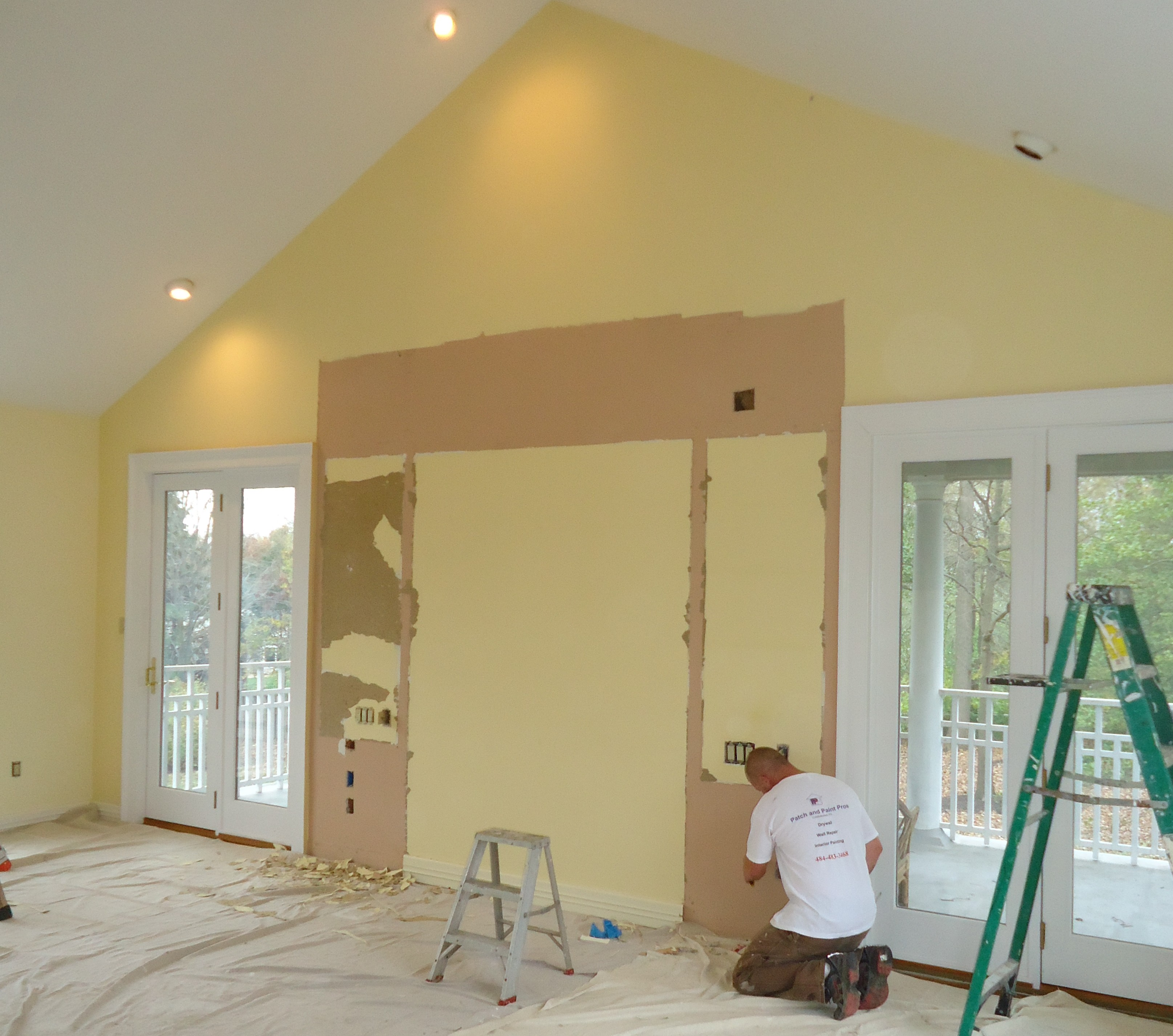 Interior House Painting   Ambler PA   Patch and Paint Pros Interior House Painting  Ambler Photos