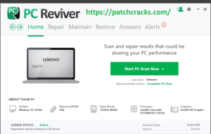 PC Reviver 5.33.3.2 Crack Free Download With Serial Key Download