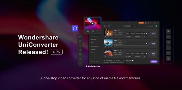 Wondershare UniConverter 12.0.0.33 Crack & License Key Latest Version