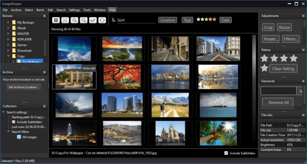 ImageRanger Pro Crack 1.7.5.1604 + [ Latest Version ]