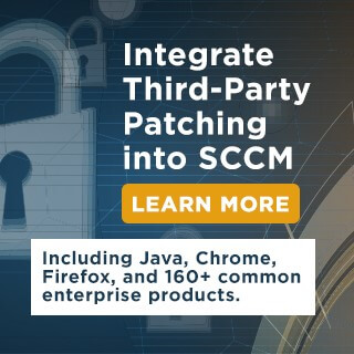 Third-Party Patch Management in Microsoft SCCM with Patch My PC
