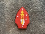 2nd Marine Division PVC Patch Morale Patch