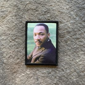 BADASS AMERICAN SERIES: Dr Martin Luther King Jr digital print memorial patch 1