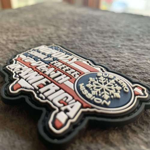 FUNDRAISER:  (2) The Sub Zero Mission Patches