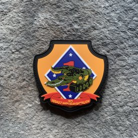 3rd Amphibious Assault Battalion Full Shield PVC Patch