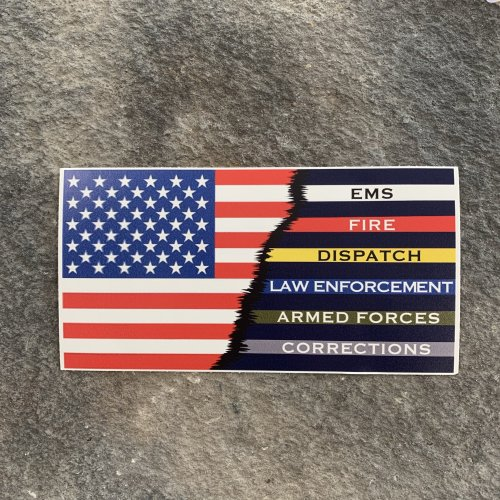 Ryan Weaver Collection:  Hero Flag Decal by PatchOps
