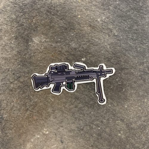 M249 SAW Decal