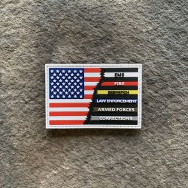 Ryan Weaver Heroes collection-  Hero Flag PVC Patch