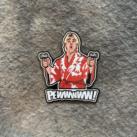 Ric Flair Pewwwww!  Vinyl Decal