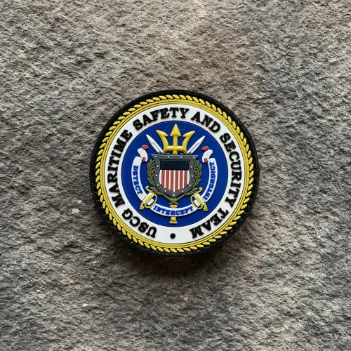 USCG Maritime Safety and Security Team MSST PVC Patch