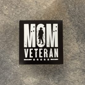 Mom Veteran Vinyl Decal