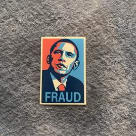 Obama Fraud Vinyl Decal